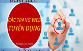 Danh sách các trang web tuyển dụng uy tín nhất Việt Nam