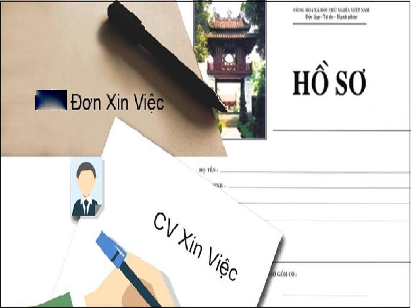 Những giấy tờ cần có trong hô sơ xin việc